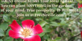 Manifesting More Money – Part 3 – Free Neville Goddard